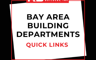 Bay Area Building Departments: Quick Links